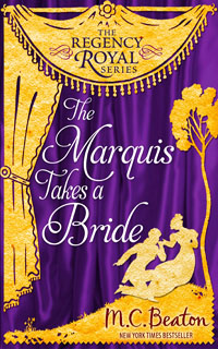 Cover of The Marquis Takes a Bride by M.C. Beaton