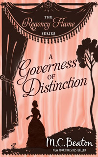 Cover of A Governess of Distinction by M.C. Beaton