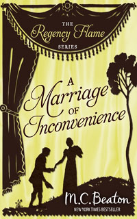 Cover of A Marriage of Inconvenience by M.C. Beaton
