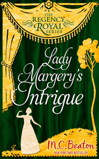 Cover of Lady Margery's Intrigue by M.C. Beaton