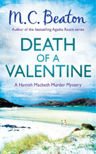 Cover of Death of a Valentine