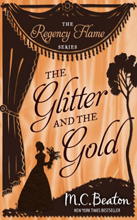 Cover of The Glitter and the Gold by M.C. Beaton