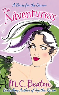 Cover of The Adventuress by Marion Chesney