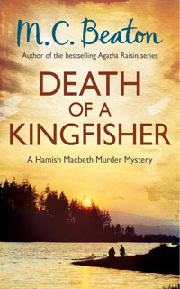 Cover of Death of a Kingfisher by M.C. Beaton