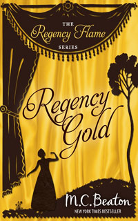 Cover of Regency Gold by M.C. Beaton