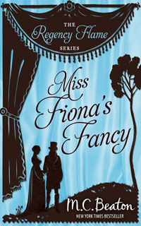 Cover of Miss Fiona's Fancy by M.C. Beaton