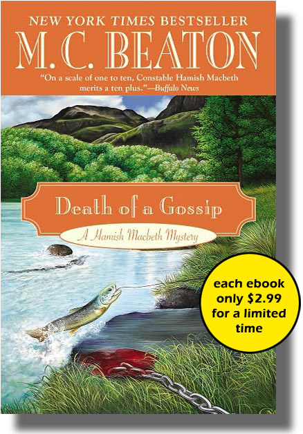 Cover of Death of a Gossip by M.C. Beaton