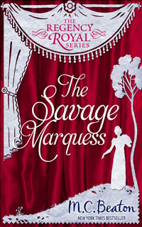 Cover of The Savage Marquess by M.C. Beaton