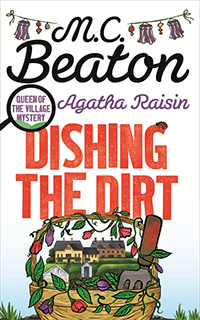 Cover of Dishing the Dirt by M.C. Beaton