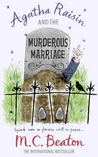 Cover of The Murderous Marriage by M.C. Beaton