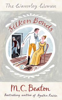 Cover of Silken Bonds by Marion Chesney
