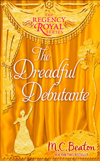 Cover of The Dreadful Debutante by M.C. Beaton