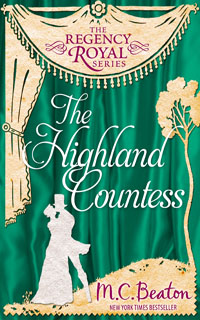 Cover of The Highland Countess by M.C. Beaton