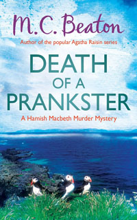 Cover of Death of a Prankster by M.C. Beaton