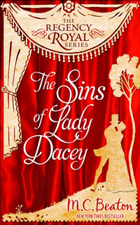 Cover of The Sins of Lady Dacey by M.C. Beaton