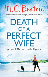 Cover of Death of a Perfect Wife by M.C. Beaton