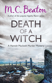 Cover of Death of a Witch by M.C. Beaton