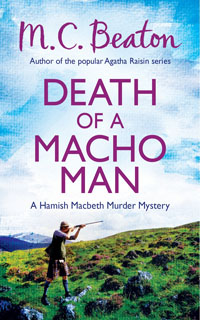 Cover of Death of a Macho Man by M.C. Beaton