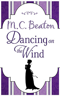 Cover of Dancing on the Wind by M.C. Beaton