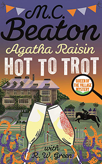 Cover of Hot to Trot by M.C. Beaton
