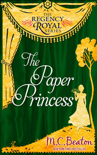 Cover of The Paper Princess   by M.C. Beaton