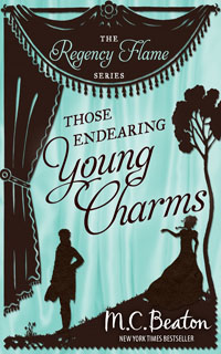 Cover of Those Endearing Young Charms by M.C. Beaton