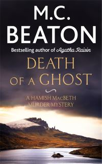 Cover of Death of a Ghost by M.C. Beaton