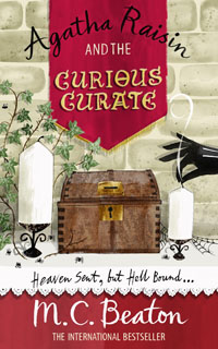 Cover of The Case of the Curious Curate by M.C. Beaton
