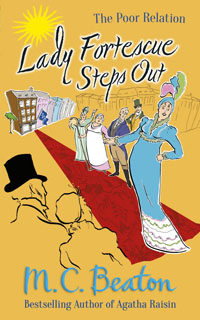 Cover of Lady Fortescue Steps Out by Marion Chesney