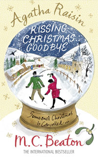 Cover of Kissing Christmas Goodbye by M.C. Beaton