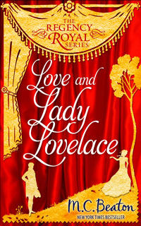 Cover of Love and Lady Lovelace by M.C. Beaton