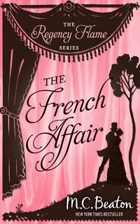 Cover of The French Affair by M.C. Beaton