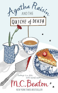 Cover of The Quiche of Death by M.C. Beaton