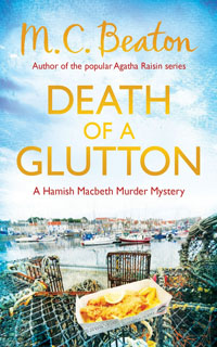 Cover of Death of a Glutton by M.C. Beaton