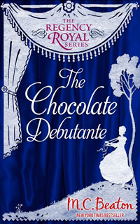 Cover of The Chocolate Debutante by M.C. Beaton