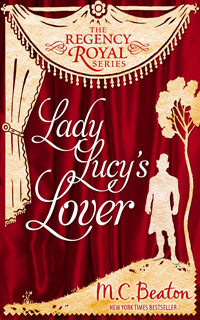 Cover of Lady Lucy's Lover by M.C. Beaton