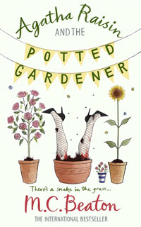 Cover of The Potted Gardener by M.C. Beaton