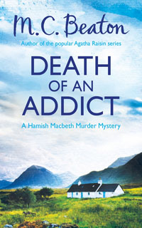 Cover of Death of an Addict by M.C. Beaton