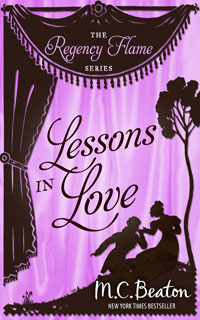 Cover of Lessons in Love by M.C. Beaton