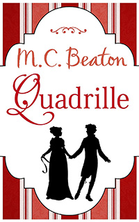 Cover of Quadrille by M.C. Beaton