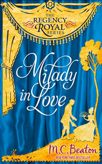Cover of Milady In Love by M.C. Beaton