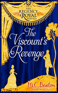 Cover of The Viscount's Revenge by M.C. Beaton