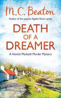 Cover of Death of a Dreamer by M.C. Beaton