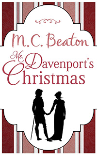 Cover of Miss Davenport's Christmas by M.C. Beaton