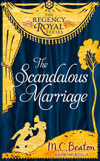 Cover of The Scandalous Marriage by M.C. Beaton
