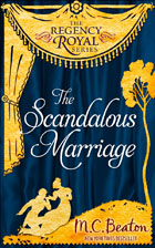 Cover of The Scandalous Marriage