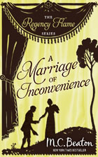 Cover of A Marriage of Inconvenience