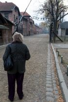 On a day trip to visit the Auschwitz concentration camp near Kraków