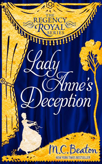 Cover of Lady Anne's Deception by M.C. Beaton
