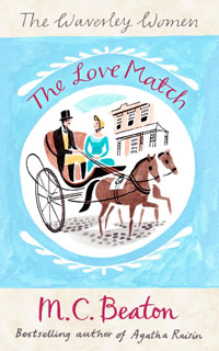 Cover of The Love Match by Marion Chesney